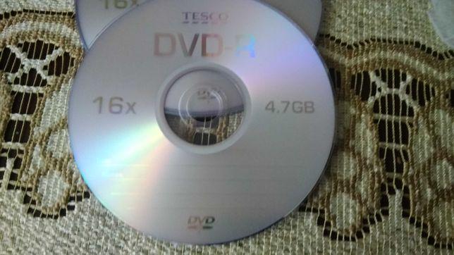 Płyty DVD-R, CD-R czyste