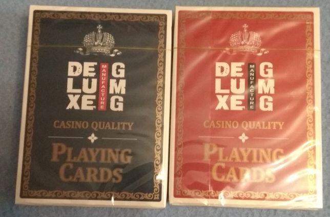 Карты игральные покерные профессиональные (цена за пару)