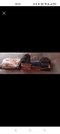 Zestaw ubrań dla chłopca rozm. 146 -  51 sztuk super okazja