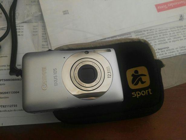 Máquina fotográfica Canon ixus105
