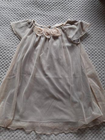 Sukienka tiulowa Zara