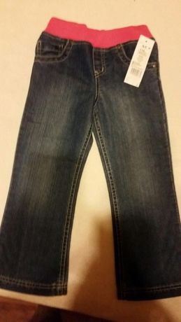 Spodnie jeans nowe 5 6 lat r 116 warto