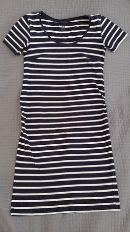 Sukienka ciążowa h&m krótki rękaw