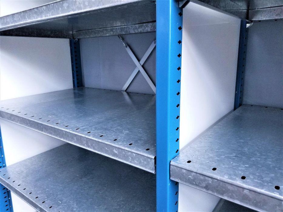 REGAŁ 60x260x303cm/21p Magazynowy Metalowy Półkowy Garażowy.