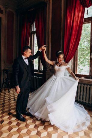 Свадебное платье безразмерное корсет
