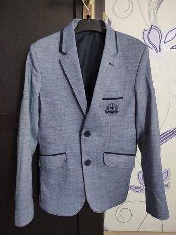 Новый пиджак на парня рост 152-158 см