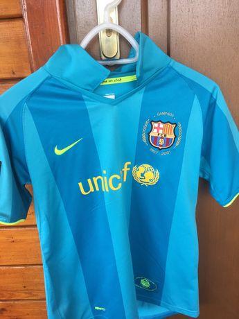 Koszulka FC Barcelona rozmiar junior 152-158 stan dobry