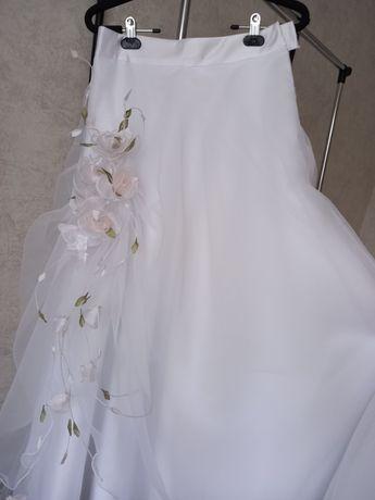 Весільне плаття у вигляді корсету та спідниці