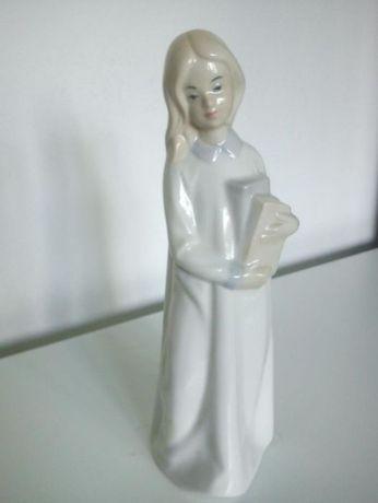 magnifica estatueta porcelane mad espanhe de colecion