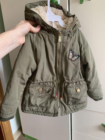 Куртка парка Zara демисезон