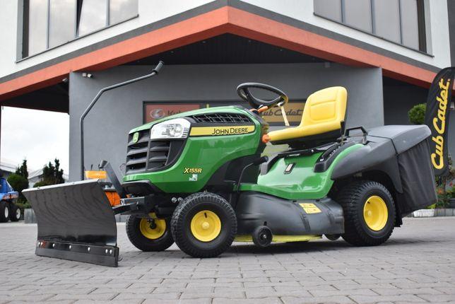 Pług śnieżny do traktorów ogrodowych kosiarek John Deere różne modele