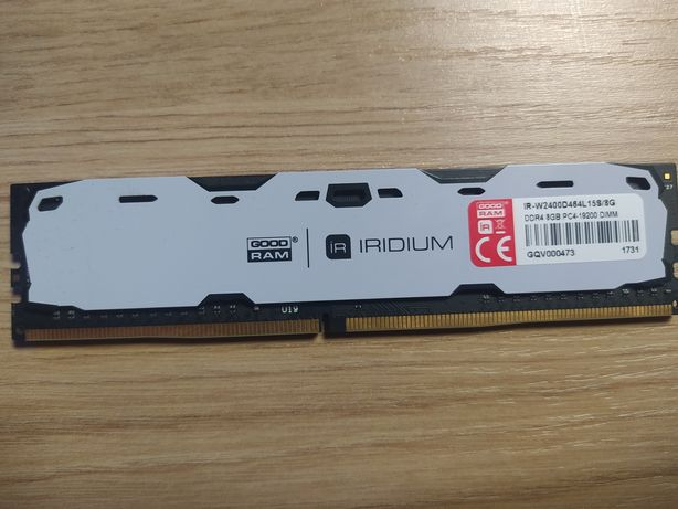 Pamiec RAM Iridium 8GB 2400mhz DDR4