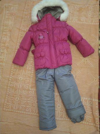 Новый зимний комбинезон на девочку