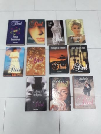 Conjunto de 17 Livros de Danielle Steel