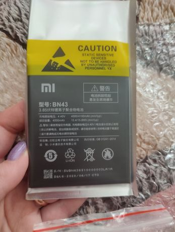 Батарея на Xiaomi redmi note 4x