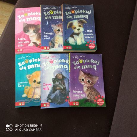Holly Webb zaopiekuj się zestaw 6 książek dla dzieci