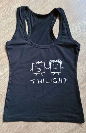 Koszulka top bokserka twilight