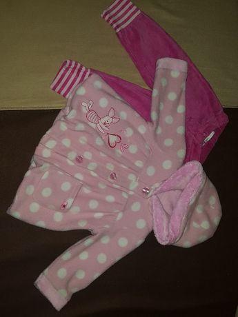 Детское пальто пальтишко для девочки 6-9 месяцев