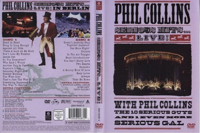 Phil Collins - Serious hits live 2 DVD