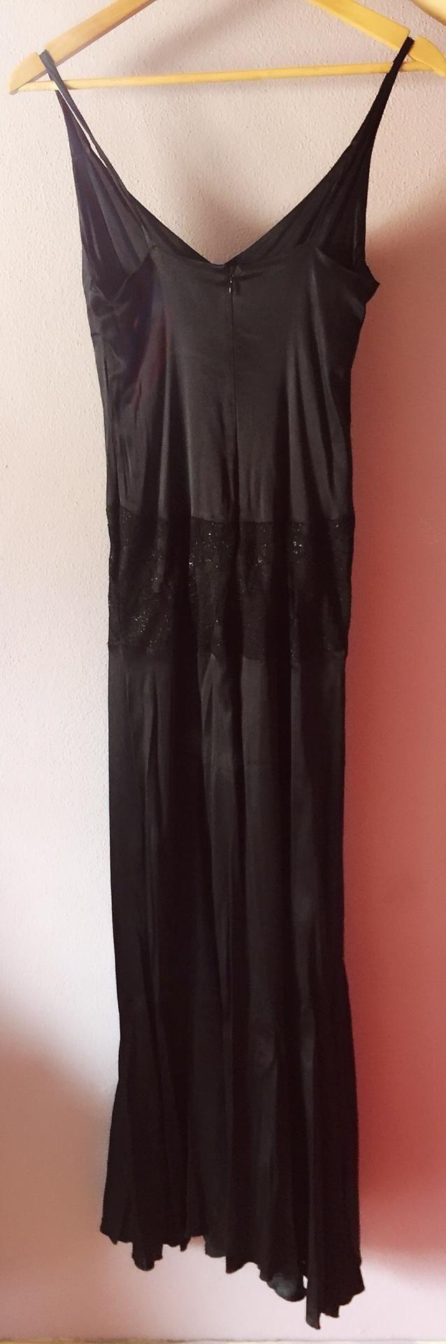Vestido preto Fátima Lopes