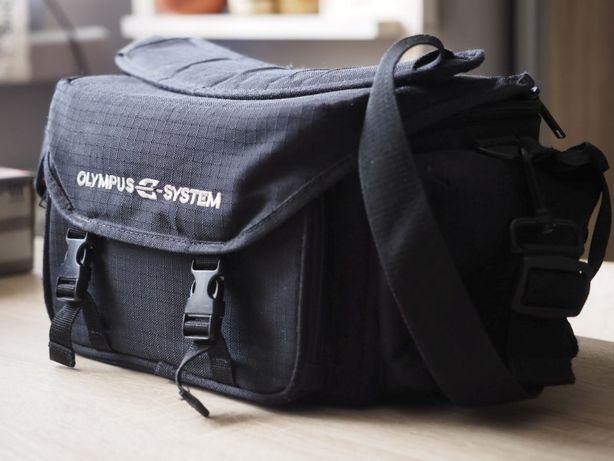 Torba fotograficzna Olympus e-system, mało używana, stan bdb