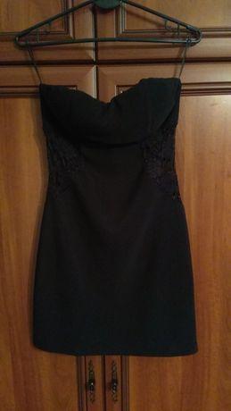 Sukienka mała czarna na imprezę r. 36 mini