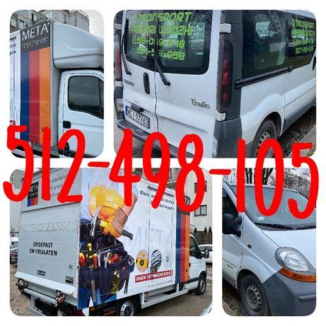 TANI Transport Przeprowadzki 24/7 mebli motocykli bagażówka AUTO WINDA