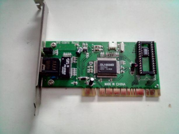 Adaptador PCI Fast Ethernet 10/100Mbps PCI
