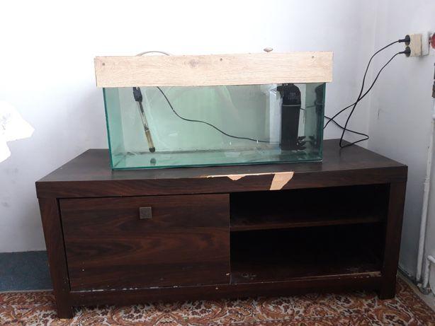 Akwarium 80l z szafka