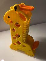 zabawka żyrafa fisher price