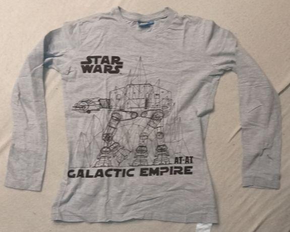 Szara koszulka z obrazkiem STAR WARS