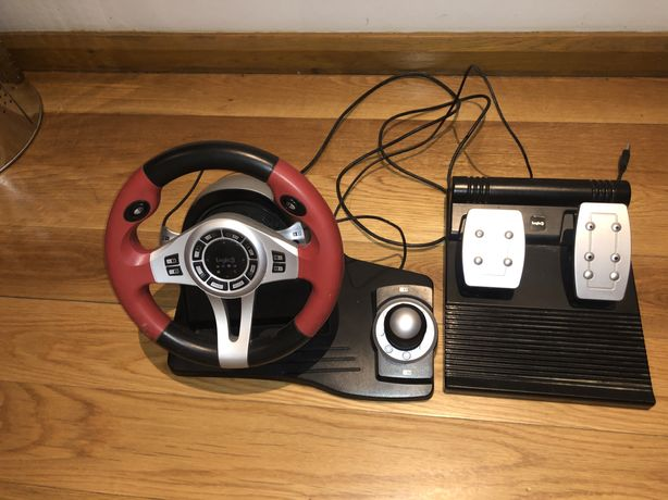 Volante e pedais Logic 3 Top Drive GT