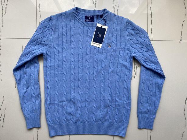 Джемпер Gant Cotton Cable Crewneck, M, новый