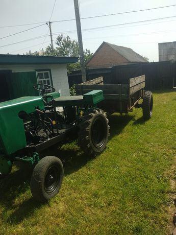 Трактор самодельний