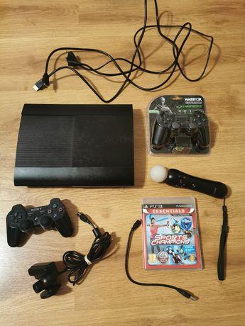 Konsola zestaw PS3 Playstation kamera pad kontroler move