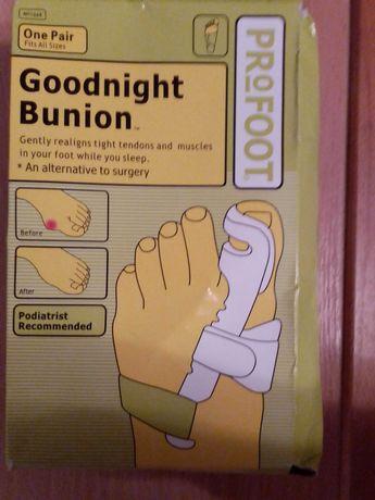Ортопедический корректор для большого пальца ноги Goodnight Bunion