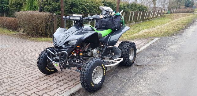Kawasaki kfx 700 dopasiony zarejestrowany