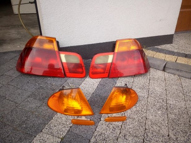 Lampy BMW E46 sedan przedlift