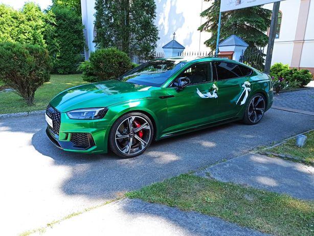 AUDI RS5 DO ŚLUBU - RS5 520KM Green - Terminy 2021/AUTO DO ŚLUBU