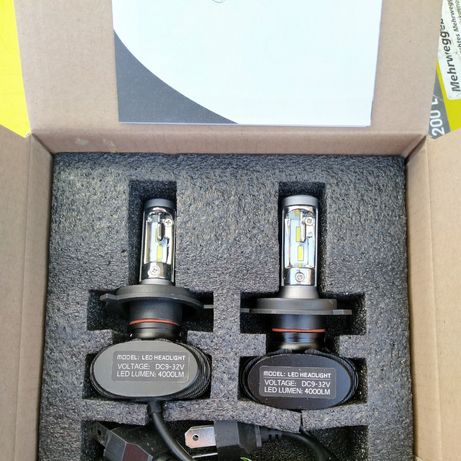 Светодиодные автомобильные лампы H4 Лэд лампы Led лампы 30 ватт