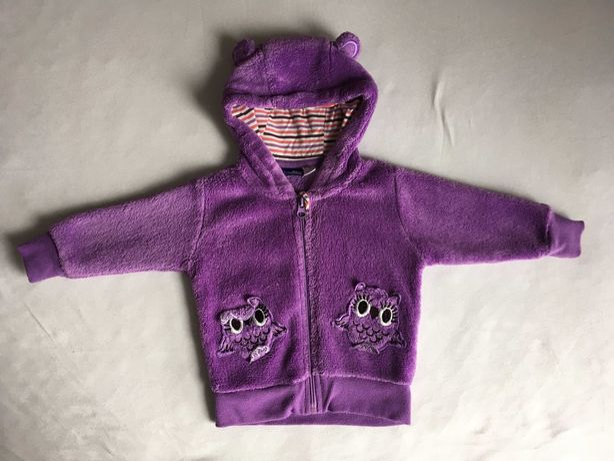 Polar bluza dresowa Lupilu 62/68 fioletowa dla dziewczynki