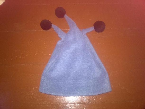 pluszowa czapka pajacyk