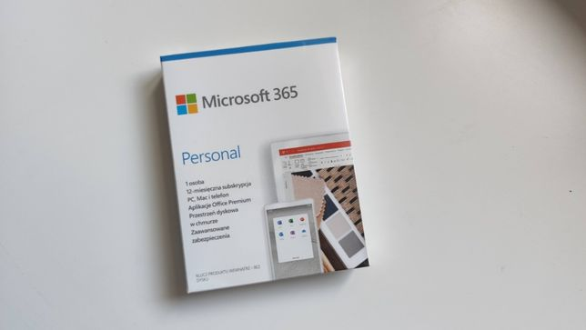 Microsoft 365 Personal BOX - QQ2-01000 - sklep.love