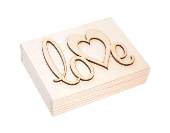 ***Pudełko na obrączki ślub wesele drewniane Piękne***