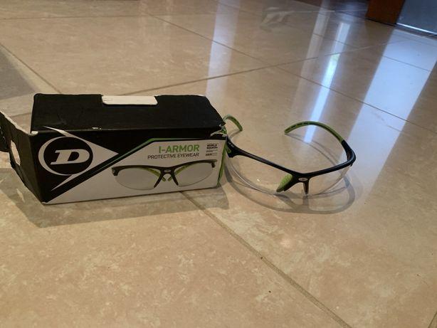 Okulary do squasha Dunlop