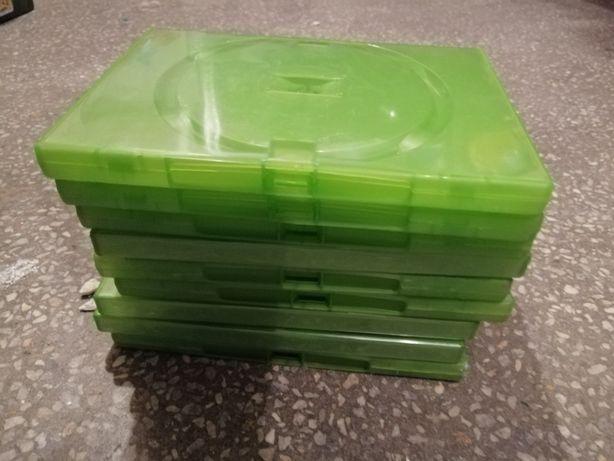 Opakowania na płyty CD / DVD czarne, zielone grube i cienkie