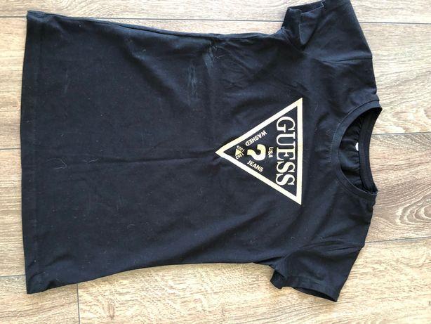 Koszulka czarna Guess xs