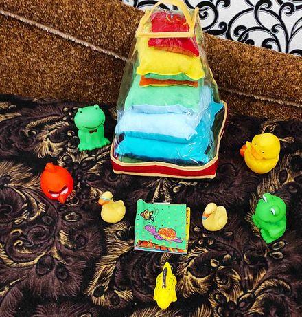 Акция игрушки мягкая пирамидка и пищалки