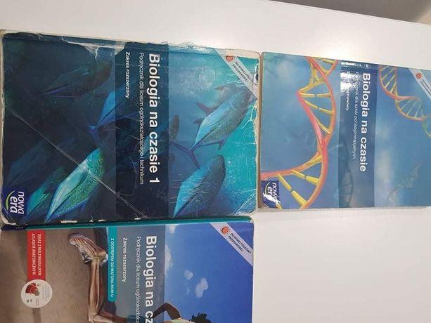 Książki liceum biol-chem, matura, rozszerzenie