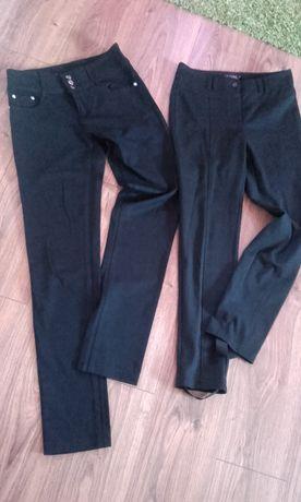 spodnie damskie czarne 38